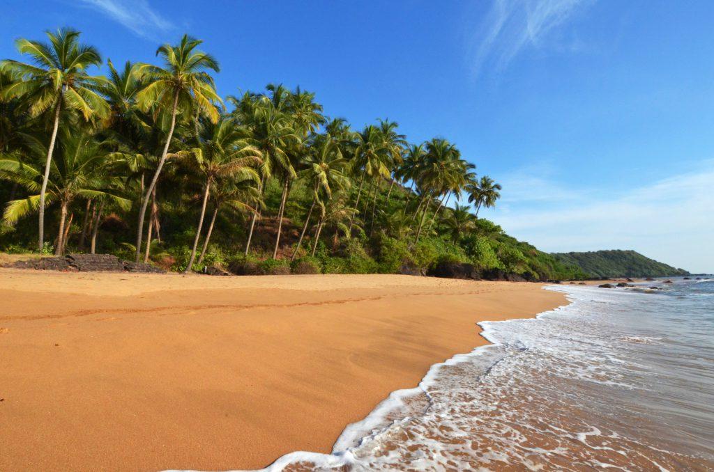 Strand in Goa, Indien
