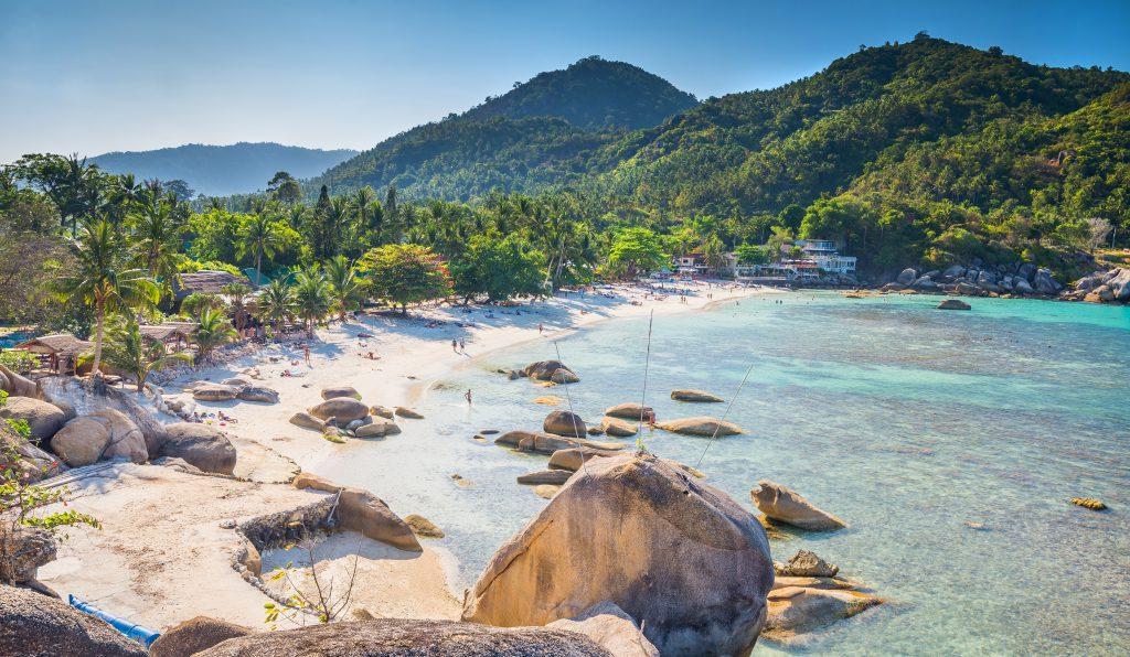 Strand auf Koh Samui, Thailand