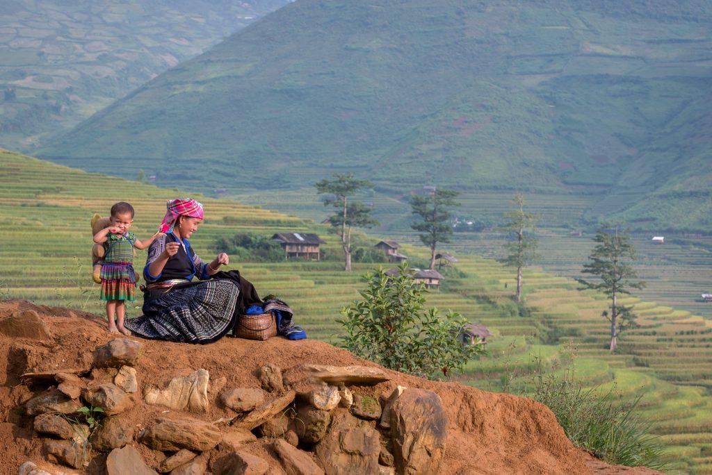 Hmong in Sapa in Kambodscha