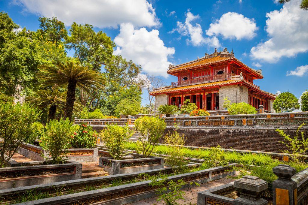 Tempel in Hue, Vietnam