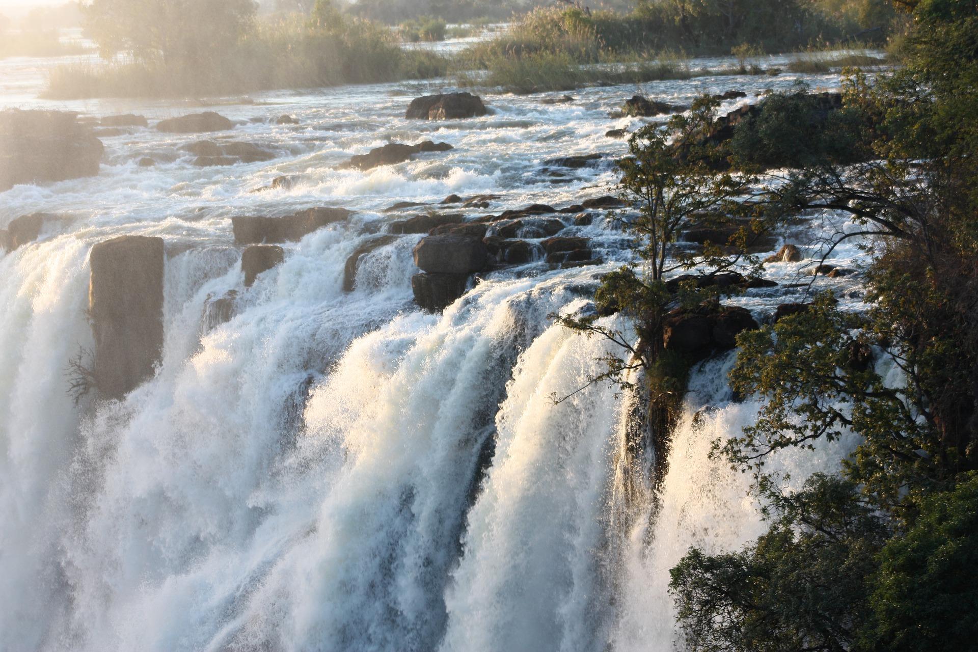 Victoria Falls, Afrika, Wasserfall
