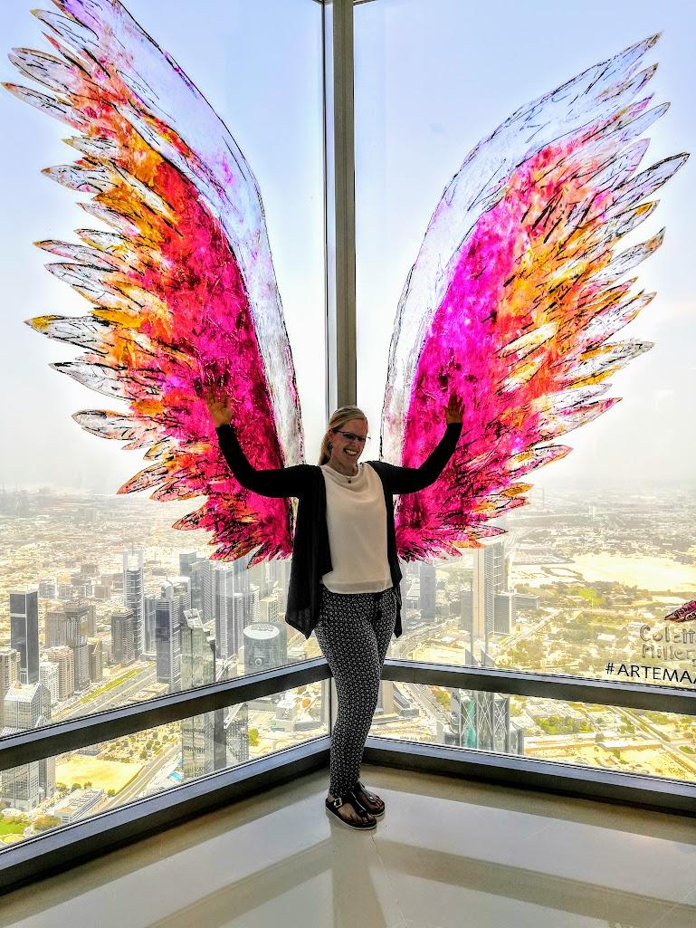Gewinnerin der Dubai Reise