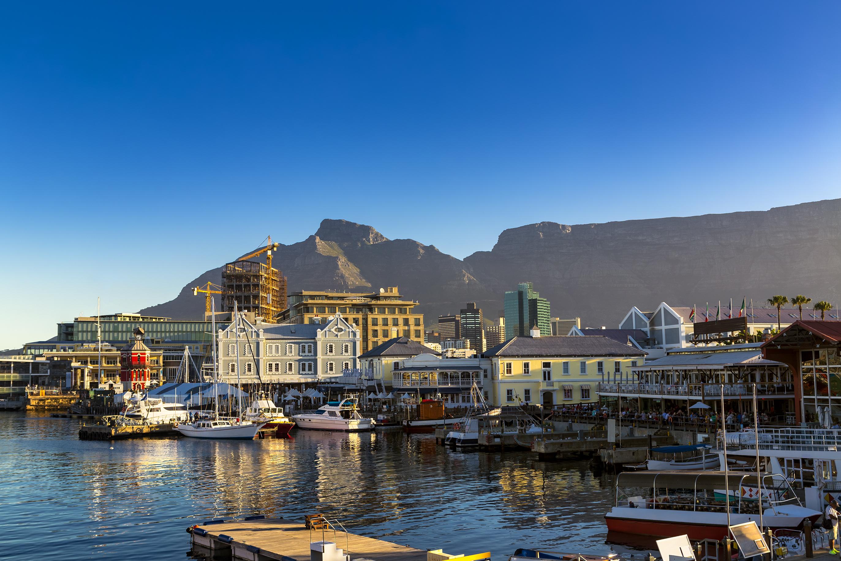 Hafen in Kapstadt