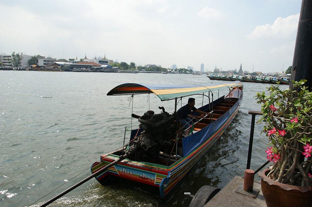 bangkok fluss boot